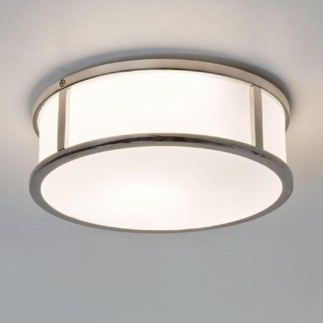 Imperial Hotel Lighting MASHIKO IP44 circular bathroom wall light - small