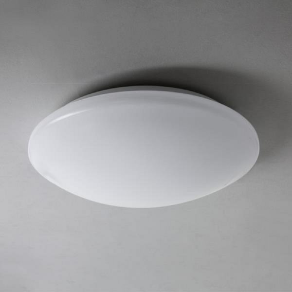 Flush Fitting Low Energy Bathroom Ceiling Light Opal