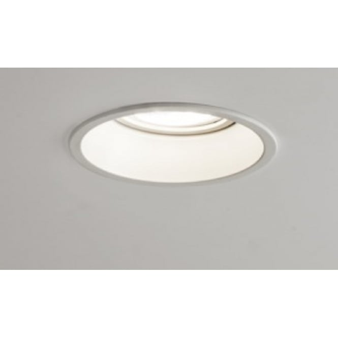 Imperial Hotel Lighting MINIMA fire-rated white circular recessed downlight or spotlight