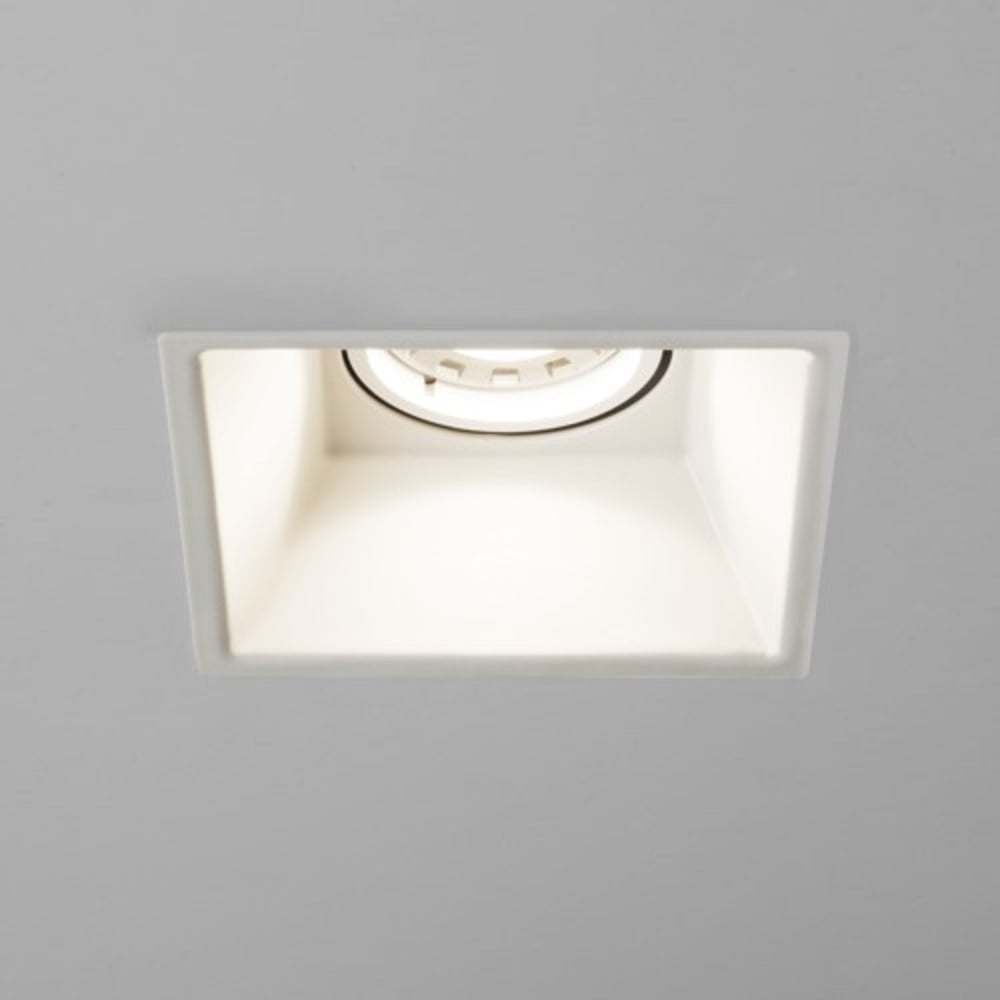 Square Recessed White Ceiling Downlight With Fire Rated
