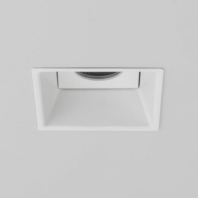 Imperial Hotel Lighting MINIMA IP65 fire rated white recessed bathroom downlight