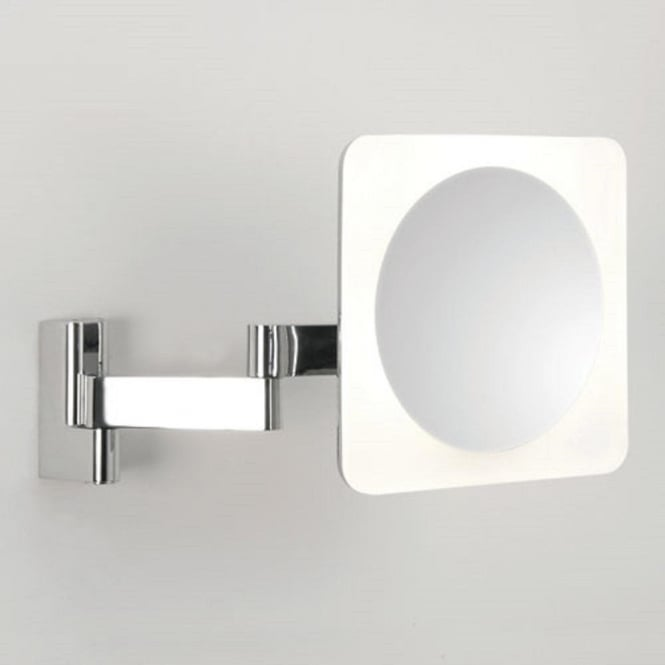 Imperial Hotel Lighting NIMI LED illuminated magnifying vanity mirror for bathroom - square