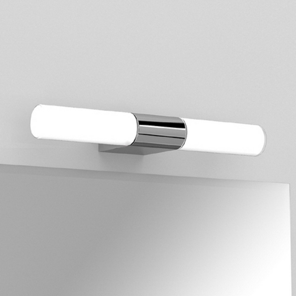 ip44 double insulated bathroom wall light for using over a mirror. Black Bedroom Furniture Sets. Home Design Ideas