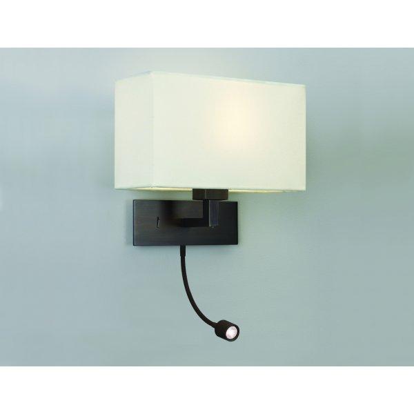 imperial hotel lighting park lane grande led bronze bedroom wall light