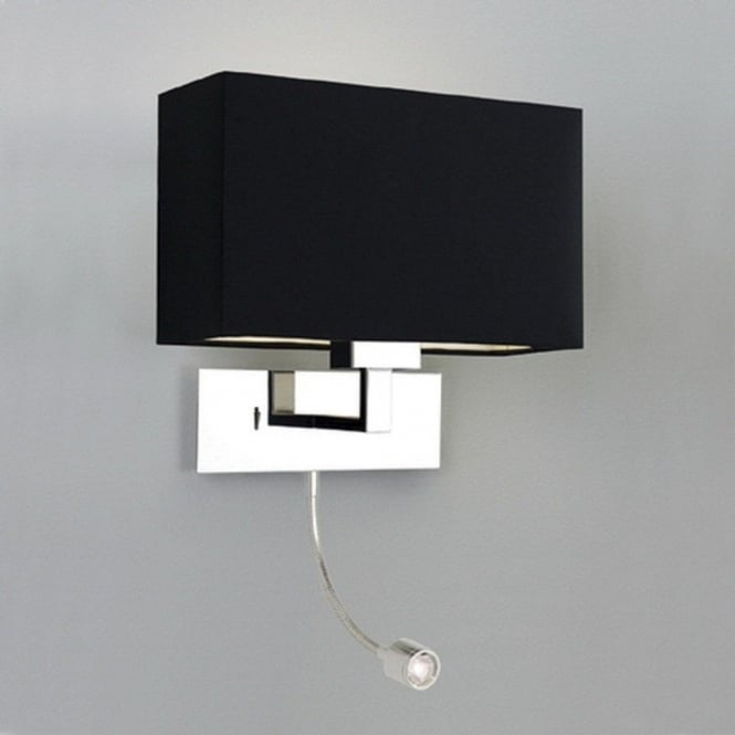 Contemporary Bedroom Wall Lights: Modern Hotel Style Bedside Wall Light With Integral LED