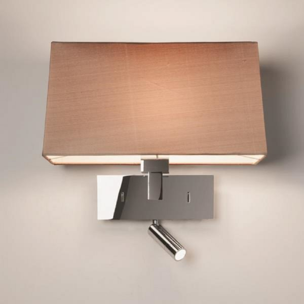 Bedroom Wall Lights With Reading Light : Contemporary Design Hotel Style Wall Light, Integral LED Book Light
