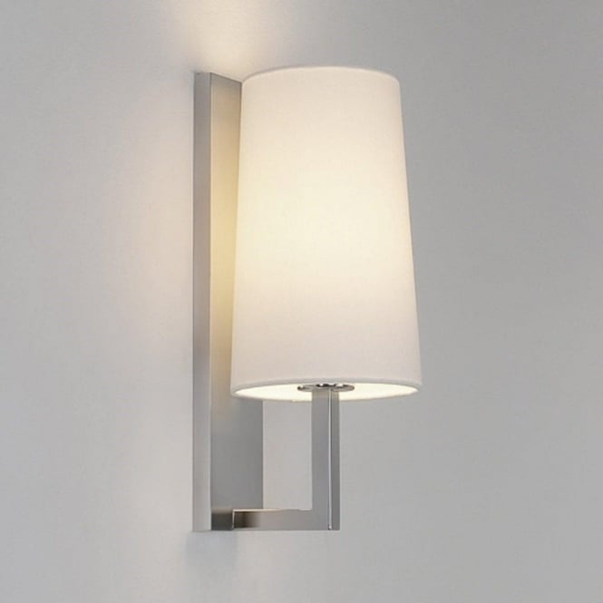 Bathroom Wall Light for Boutique Style Hotel Lighting. Double Insualted