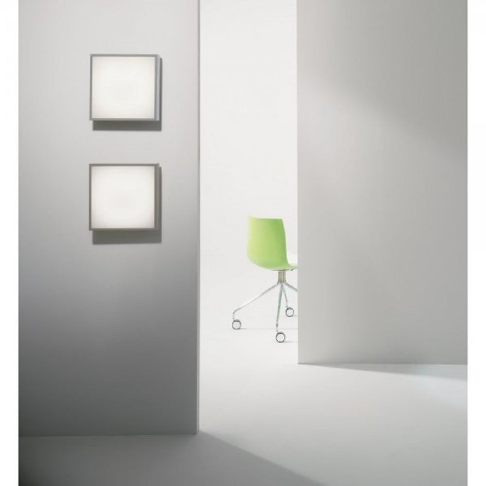 Ip44 square chrome and glass bathroom ceiling light with led bulbs taketa led square ip44 bathroom ceiling or wall light chrome aloadofball Gallery