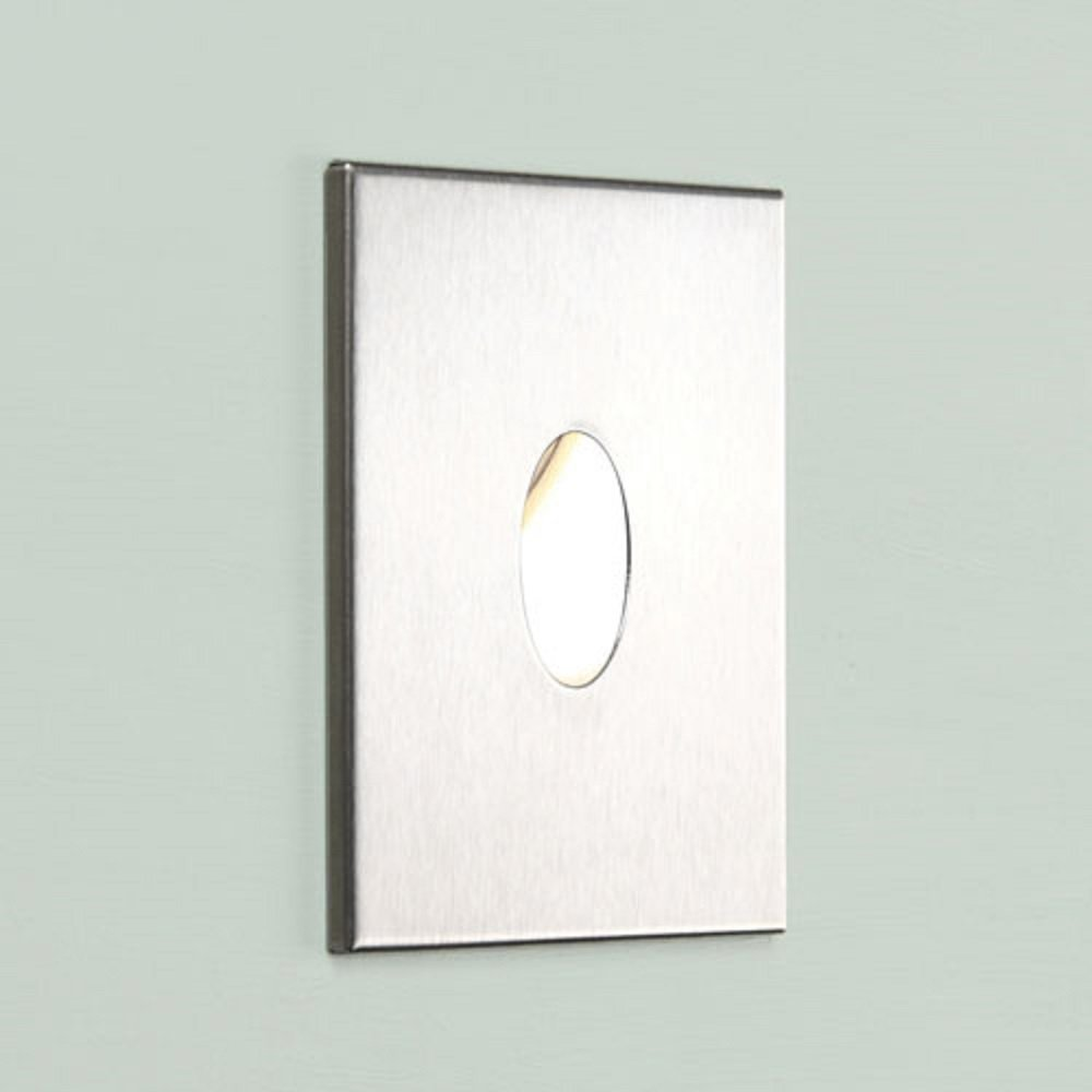 led recessed wall light use as step lights or bathroom