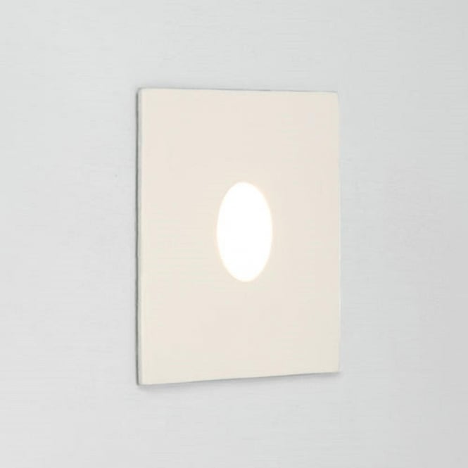 Square white led recessed wall light ip65 rated for bathroom use tango recessed led bathroom wall light white finish ip65 aloadofball Choice Image