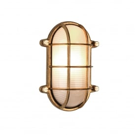 THURSO nautical bulkhead style outdoor wall or ceiling light for exposed coastal areas