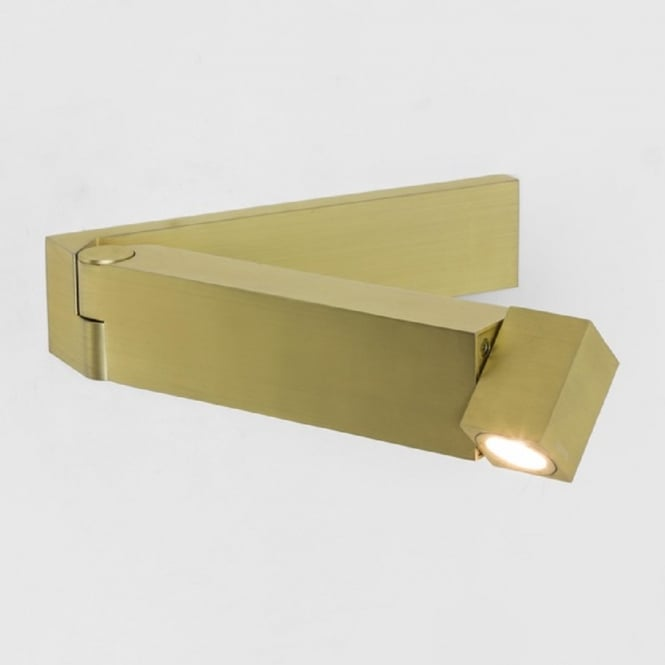 Imperial Hotel Lighting TOSCA surface mounted LED book reading light in matt gold