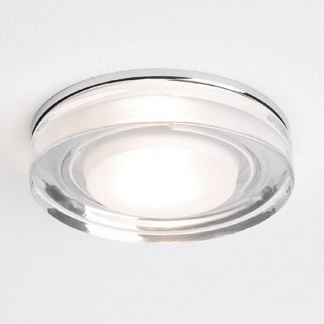 Bathroom Wall Sconces Vancouver: Double Insulated Bathroom Shower Downlight With Glass Surround