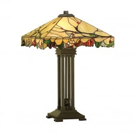 ARBOIS Arts and Crafts style Tiffany table lamp
