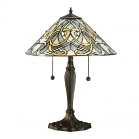 DAUPHINE Tiffany Art Nouveau table lamp
