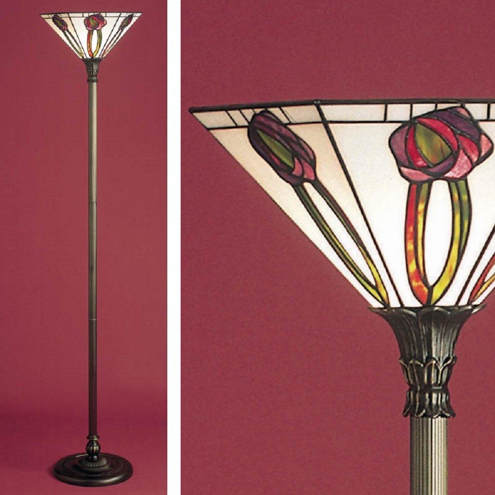 Tiffany Floor Standard Lamp Charles Rennie Mackintosh Art