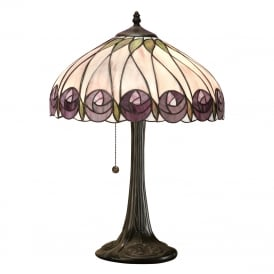 HUTCHINSON Mackintosh style Tiffany table lamp