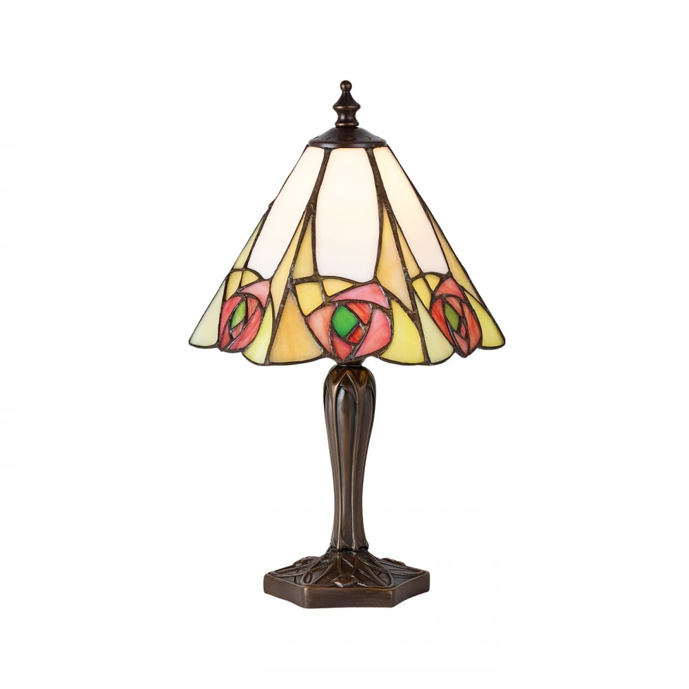 tiffany collection ingram small mackintosh style tiffany table lamp. Black Bedroom Furniture Sets. Home Design Ideas