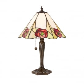 INGRAM Tiffany table lamp, Art Nouveau style