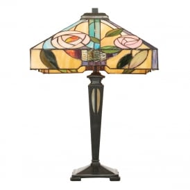 WILLOW Art Nouveau Tiffany table lamp