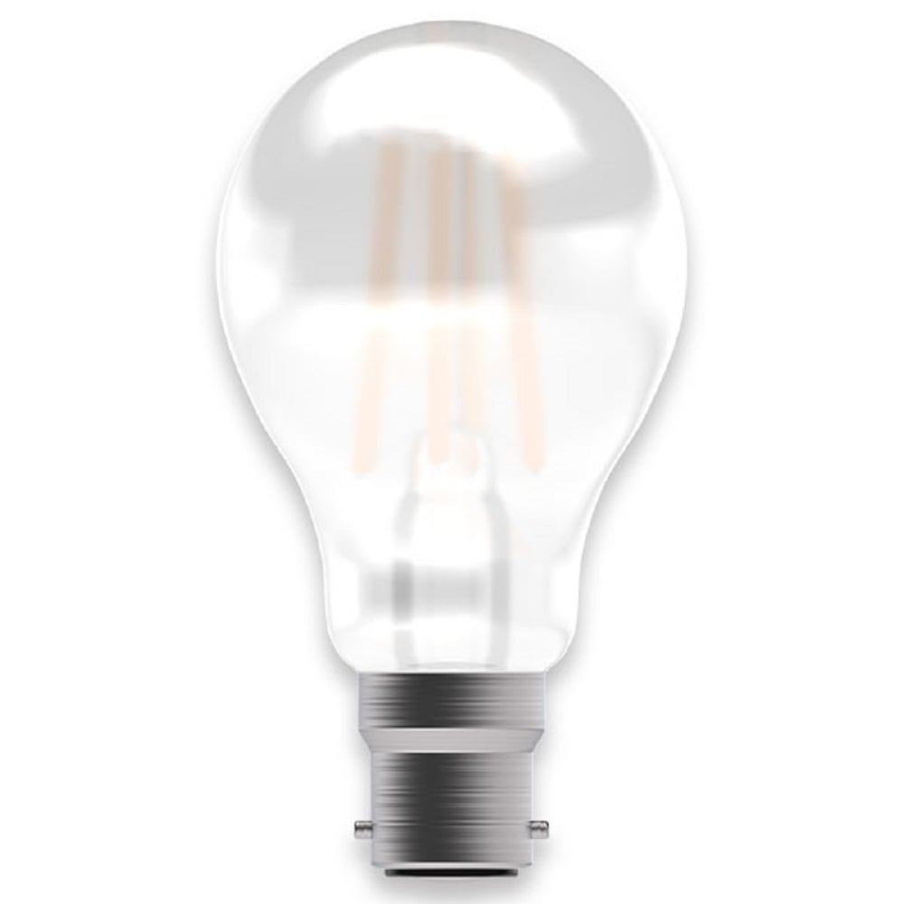 Led Dimmable Gls Filament Light Bulb Warm White 4 Watt Satin Glass With Bc Cap