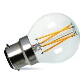 LED GOLF BALL BULB very low energy small round bulb - 3.5 watt BC