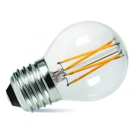 LED GOLF BALL BULB very low energy small round bulb - 3.5 watt ES, dimmable