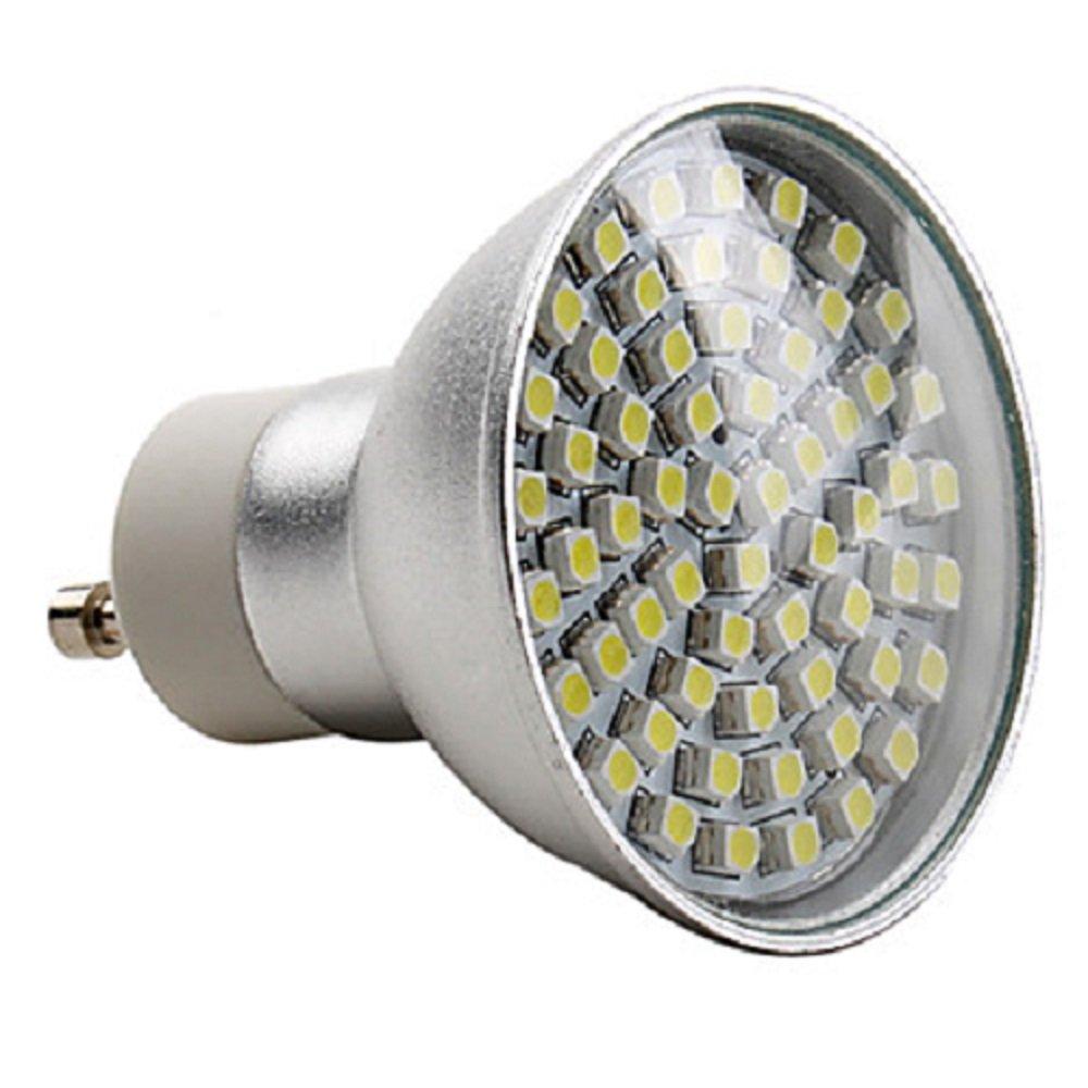 dimmable led gu10 spotlight bulb in warm white colour. Black Bedroom Furniture Sets. Home Design Ideas