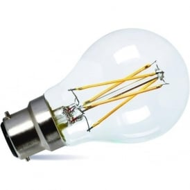 LED LOW ENERGY LIGHT BULB - 7 watt BC classic shape light bulb, dimmable LED
