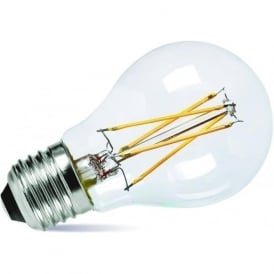 LED LOW ENERGY LIGHT BULB - 7 watt ES classic shape light bulb, dimmable LED