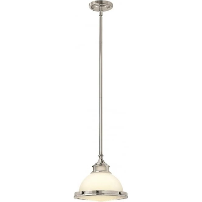 Lincoln American Lighting AMELIA vintage retro style ceiling pendant for sloping ceilings - small