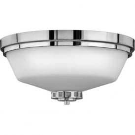 ASHLEY traditional flush fitting bathroom ceiling light, IP44