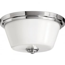 AVON traditional flush fitting bathroom ceiling light