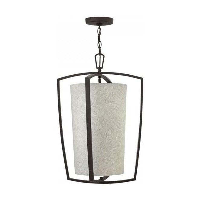Lincoln American Lighting BLAKELY classic modern style large ceiling pendant light on bronze frame