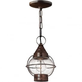 CAPE COD flush fitting or hanging porch lantern - small