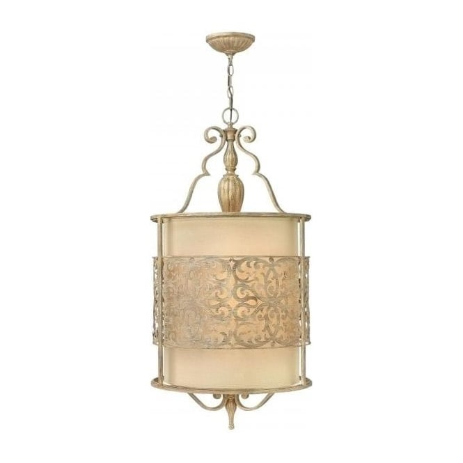 Traditional Edwardian Design Long Drop Ceiling Light In