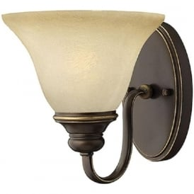 CELLO traditional antique bronze single wall light