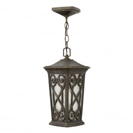 ENZO Victorian Gothic porch lantern with ornate scroll detailing