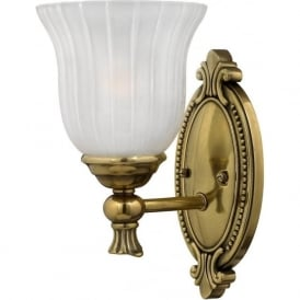 FRANCOISE period style single bathroom wall light