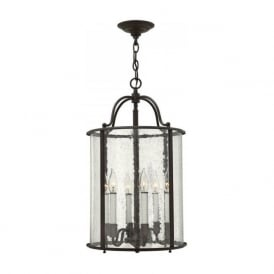GENTRY traditional bronze hall lantern - large