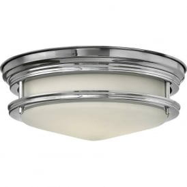 HADLEY flush fitting bathroom ceiling light, IP44