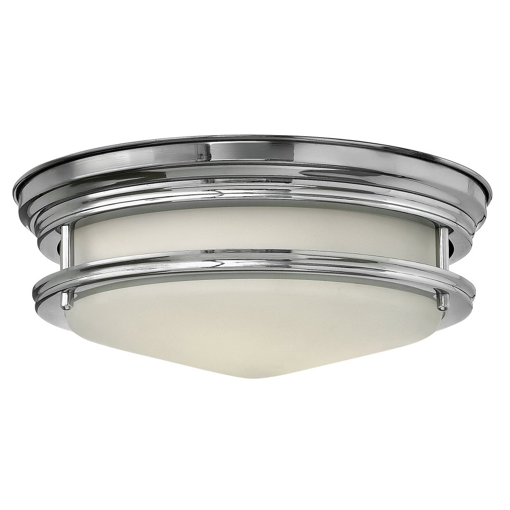 Bathroom Lights Art Deco: Circular Flush Fitting Art Deco Bathroom Ceiling Light For