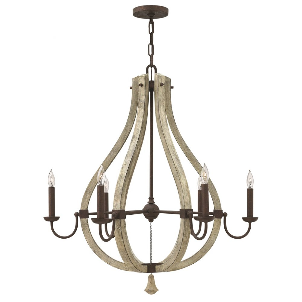 rustic chandeliers rustic shabby chic chandelier on iron frame with 6 candle 475