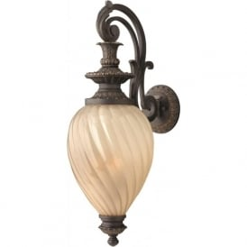MONTREAL traditional decorative outdoor wall lantern - medium