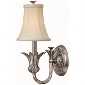 PLANTATION antique nickel single wall light