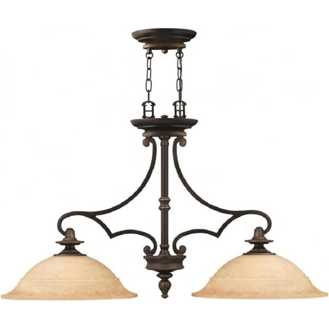 traditional pendant lighting for kitchen rubbed bronze kitchen island pendant with mocha glass 8581