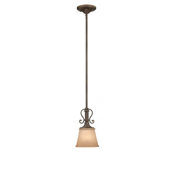 Classic mini ceiling pendant light in oil rubbed bronze for American classic lighting