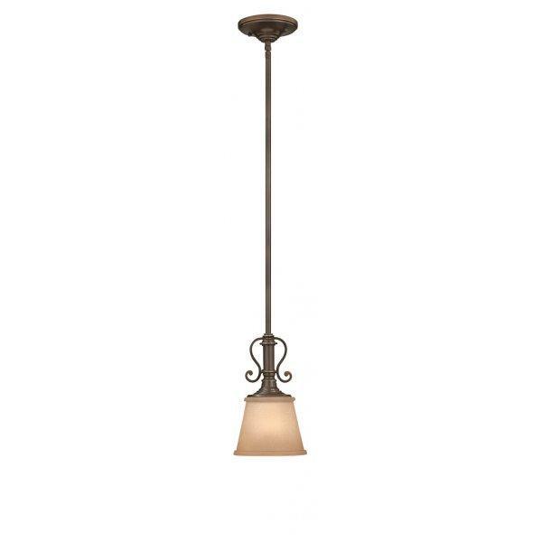 Classic mini ceiling pendant light in oil rubbed bronze for American classic lighting