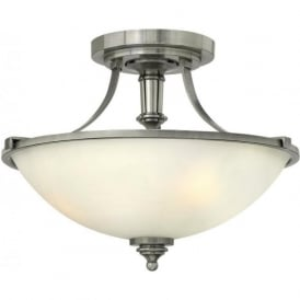 TRUMAN classic design uplighter ceiling light for low ceilings