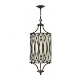 WALDEN bronze hanging ceiling pedant light